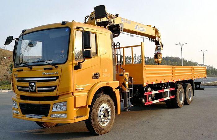 徐工K系列12吨随车吊图片