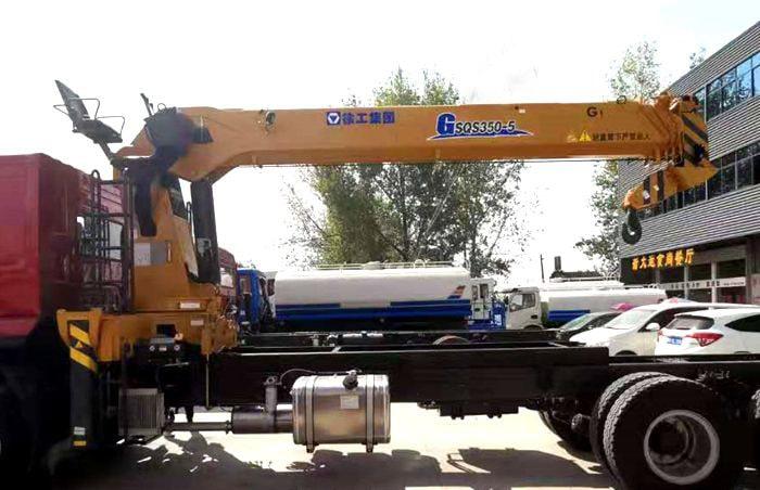 徐工汉风14吨五节臂G系列吊机图片