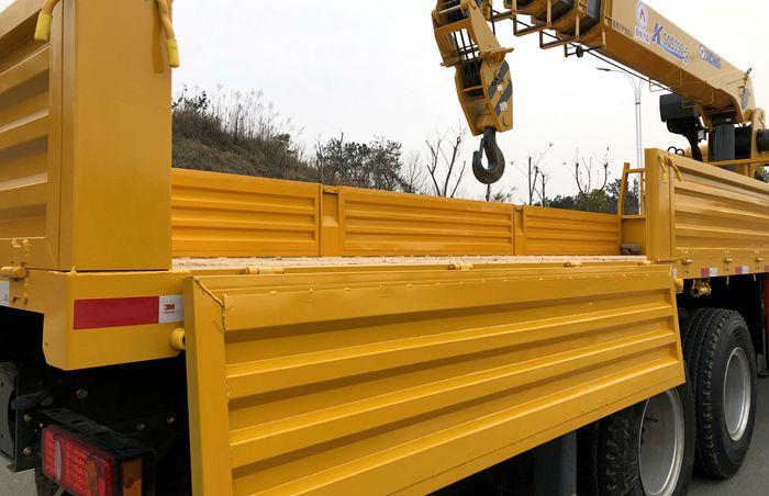 徐工汉风14吨随车吊5mm厚底板图片