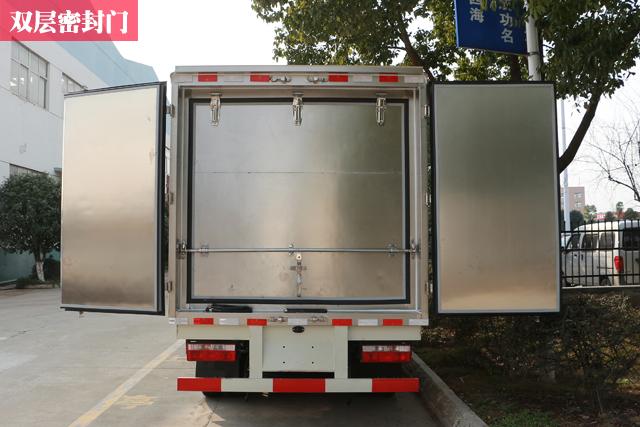 医疗废物转运车双层门