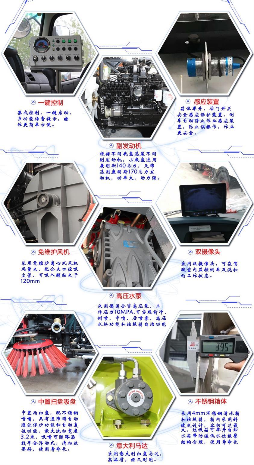 洗扫车功能图