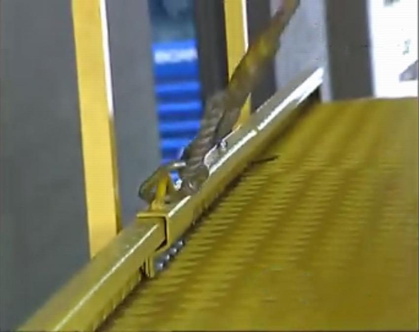 安全绳滑道