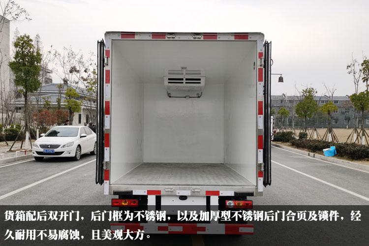 福田祥铃M1冷藏车厢体内