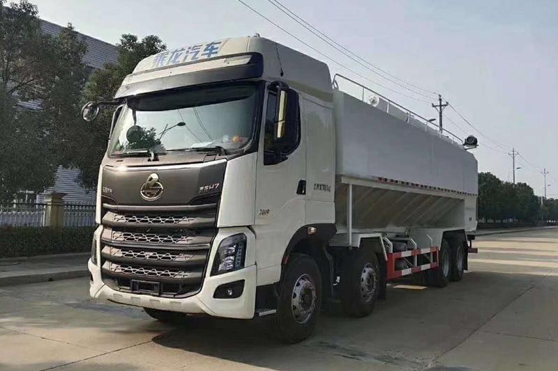 柳汽20吨散装饲料车