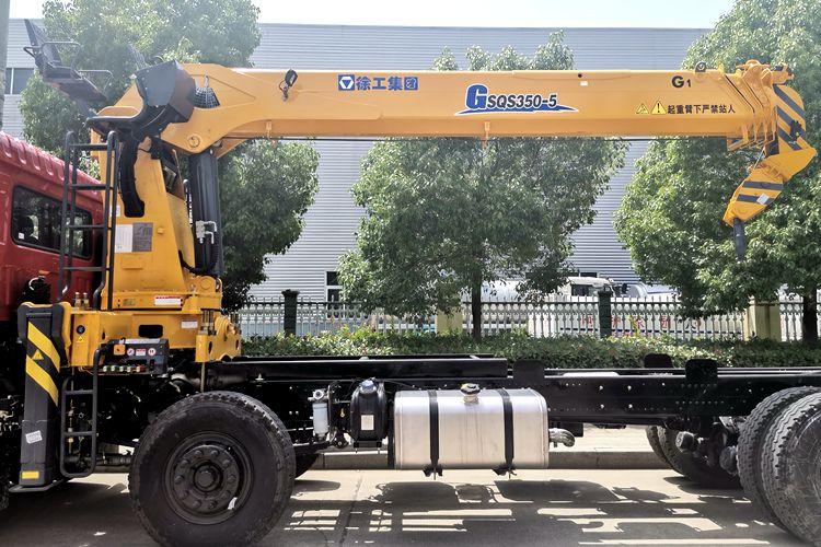徐工G系列14吨随车吊图片