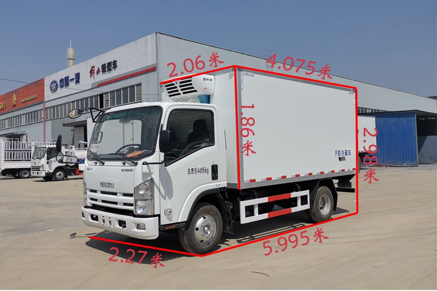 五十铃KV100冷藏车