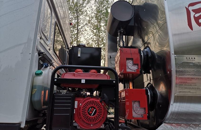 燃烧器及发电机