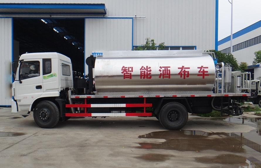 东风特商12吨沥青洒布车正侧图片