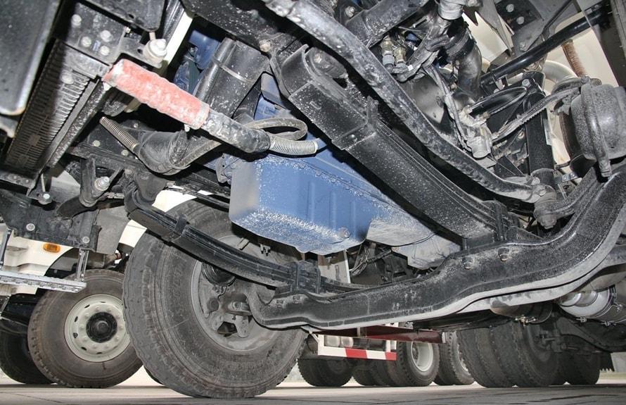 陕汽后双桥14立方混凝土搅拌车发动机图片