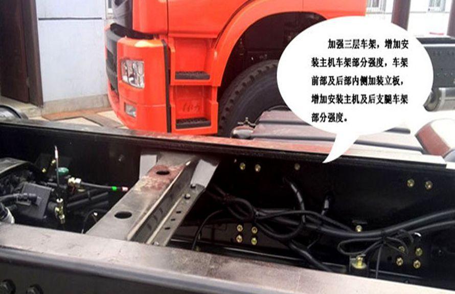 徐工8吨随车吊专用车架图片