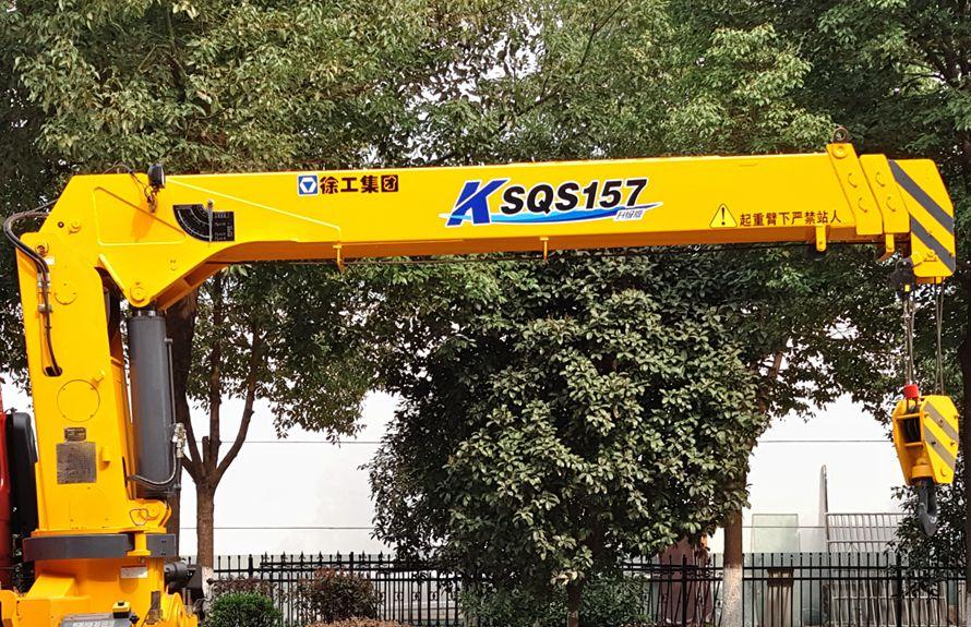 东风柳汽6.3吨随车吊直臂吊机图片