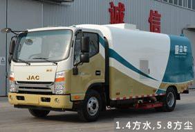 江淮5吨吸尘车