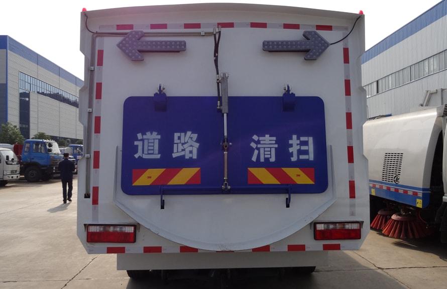 多功能道路清扫车图片(正后)