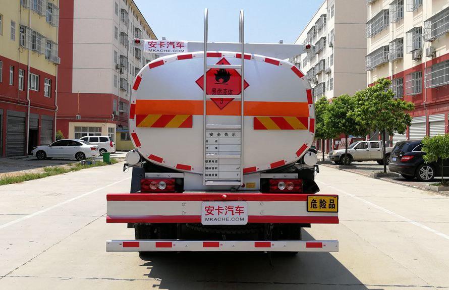 福田8吨小型加油车车尾图片