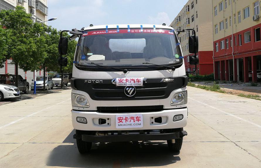 福田8吨小型加油车车头图片