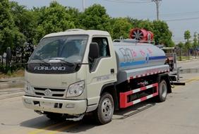 福田4吨雾炮洒水车图片价格