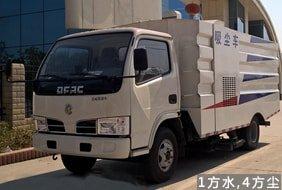 东风3吨小型吸尘车