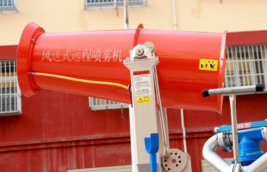 东风5吨农药喷洒车风机图片