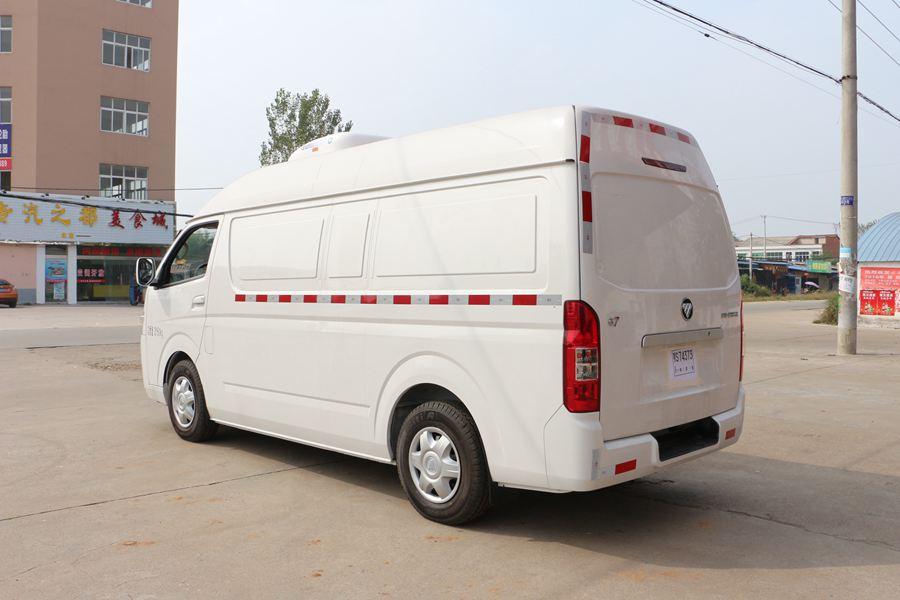 福田G7冷藏车斜后图片