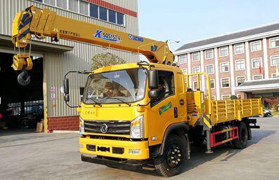 东风特商徐工6.3吨随车吊,三层车架与众不同