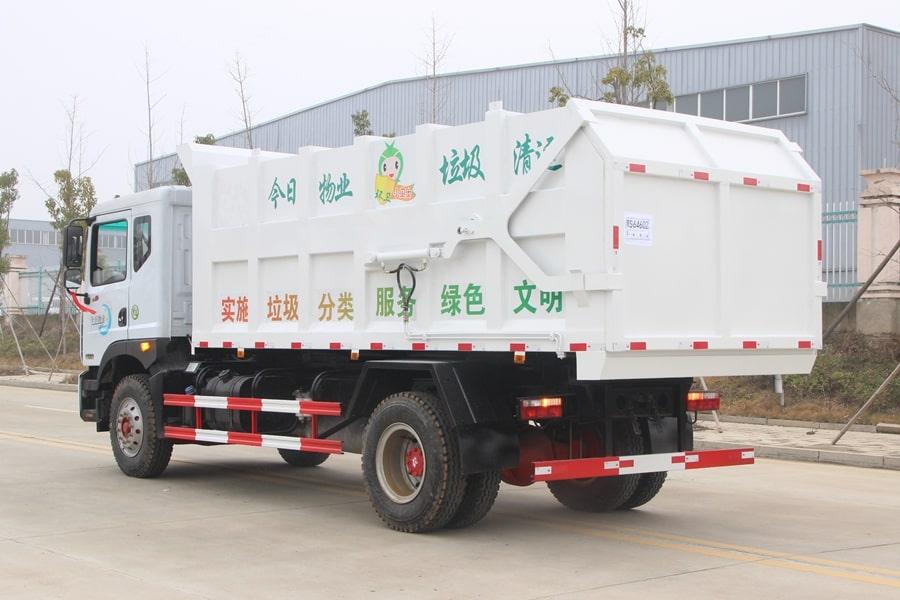 东风17方对接式垃圾车图片3