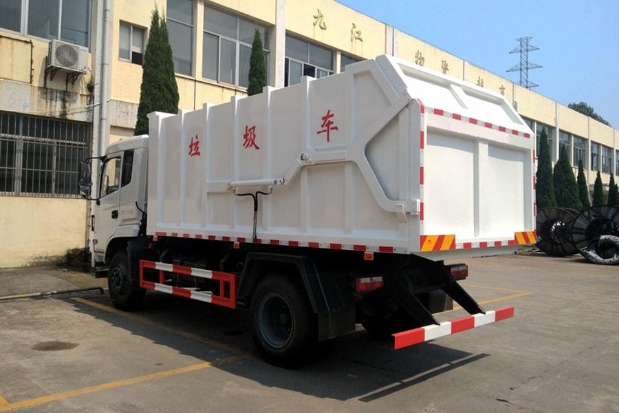 东风15方对接式垃圾车图片3