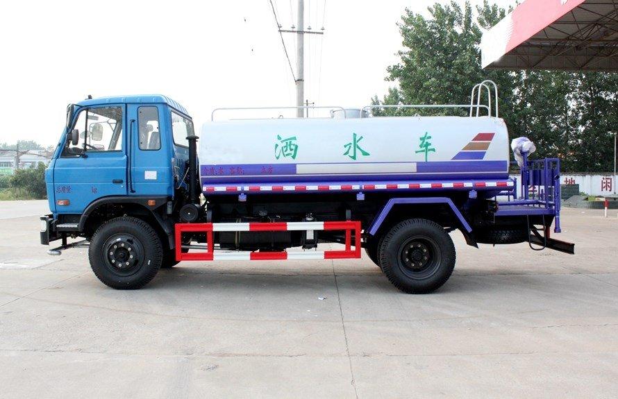 东风153 12吨洒水车整车图片B