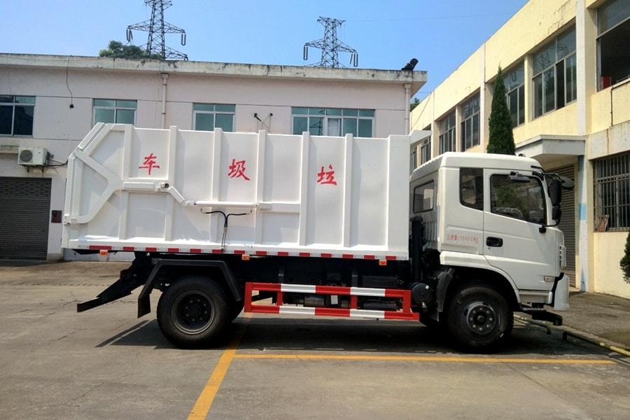 东风15方对接式垃圾车图片6