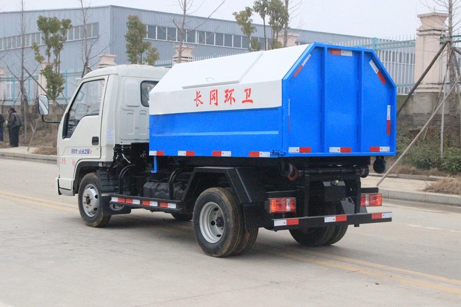 福田3方勾臂式垃圾车整车外观3