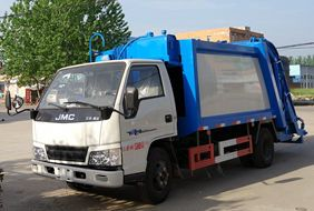 江铃3吨压缩垃圾车
