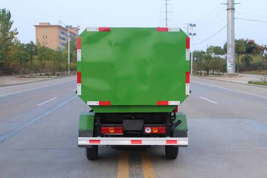 福田3方挂桶式垃圾车整车外观4
