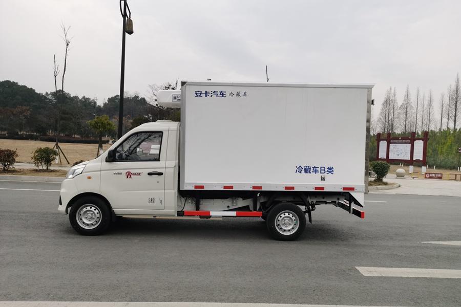 福田伽途冷藏车正侧图片