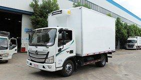 福田欧马可3s冷藏车上市,容积大,价格实惠!