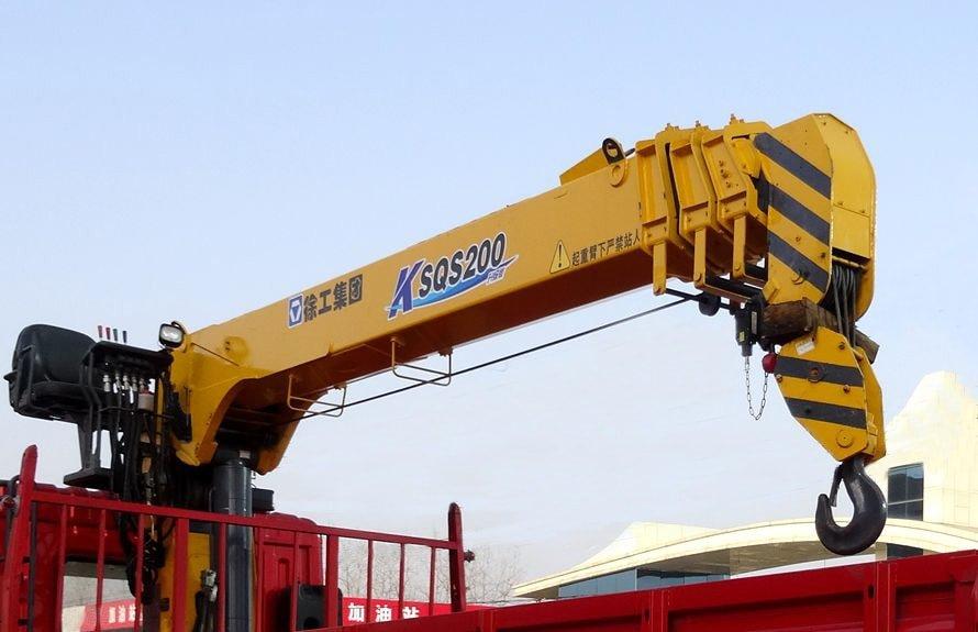 徐工8吨随车吊直臂吊机图片