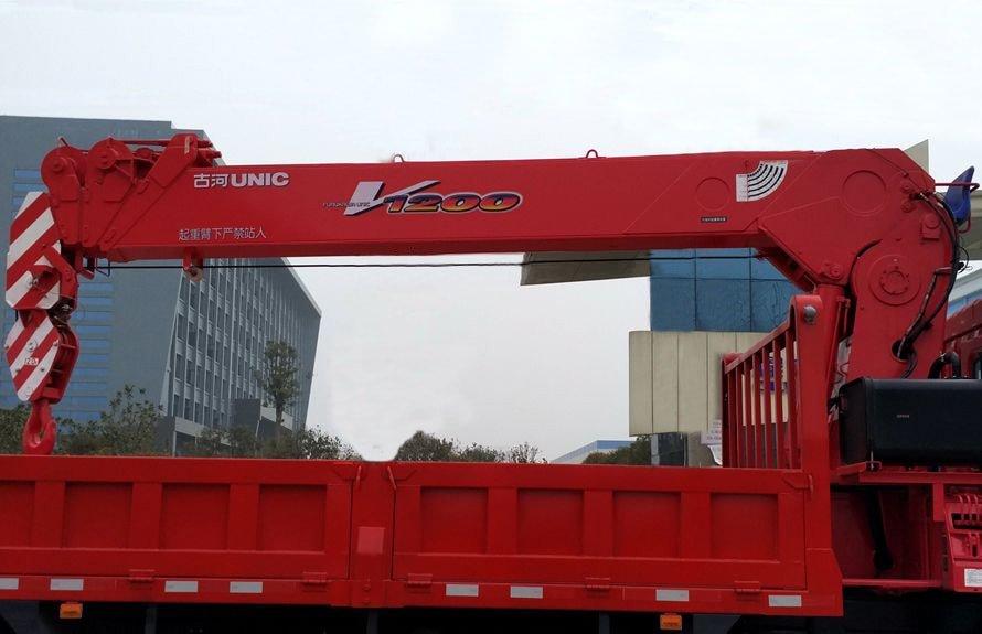 东风特商10吨随车吊直臂吊机图片