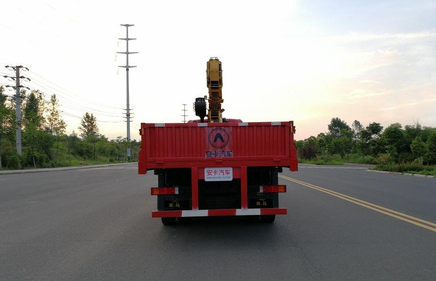 徐工14吨双联泵随车吊正车尾图片