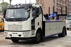 解放25吨重型清障车