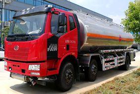 解放21吨铝合金油罐车