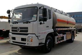 天锦12吨铝合金油罐车