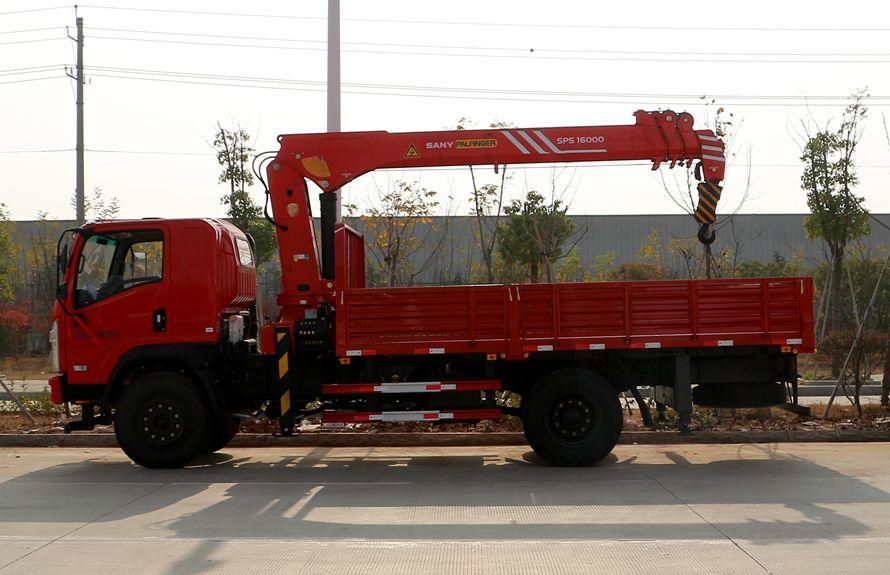 三一8吨随车吊正侧图片