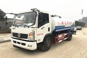 东风天然气8吨洒水车