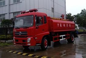 天锦10吨消防洒水车