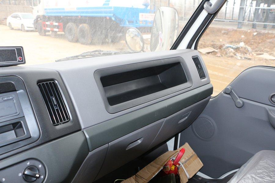 江铃顺达宽体4.2米冷藏车储物柜图片
